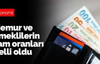SGK Bağkur emekli, memur ve memur emeklilerinin maaşlarına zam oranı belli oldu