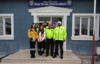 Boyabat 112 Acil Sağlık Personelinden Farkındalık Etkinliği