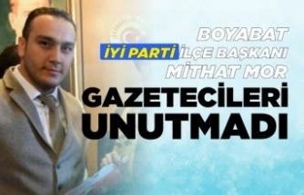 Boyabat İYİ Parti İlçe Teşkilatı, 10 Ocak Gazeteciler Günü Mesajı