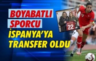 Boyabatlı Milli Sporcu Osasuna'ya transfer oldu