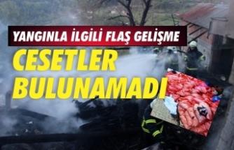 Yanan evden toplanan 302 torba kül, İstanbul Adli Tıp Kurumu'nda incelendi