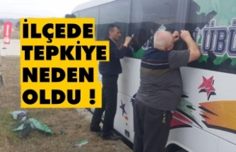 Boyabat takım otobüsünün kaplamaları söküldü !