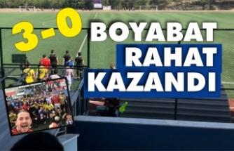 Boyabat'tan gol şov 3-0