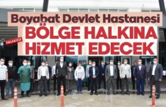 Milletvekili Maviş, Boyabat'ta ziyaret ve incelemelerde bulundu.