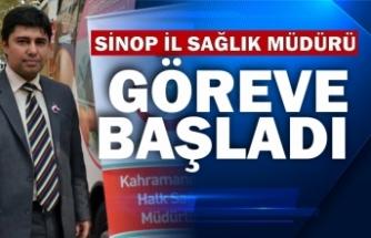 Sinop İl Sağlık Müdürü Reyhanlıoğlu göreve başladı