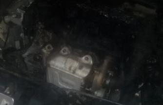 Boyabat İtfaiyesi zamanında yetişerek Tünelde yanan otomobili söndürdü