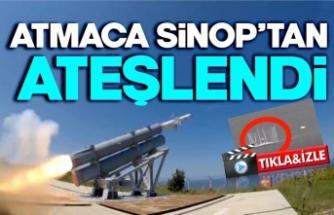 İlk deniz seyir füzesi Sinop'tan ateşlendi,hedefi böyle vurdu !