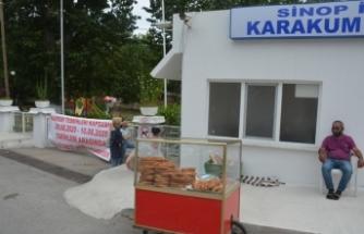 Koronavirüs Sinop'ta plaj kapattı !