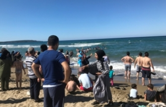 Sinop'ta 6 kişi akıntıya kapıldı