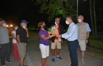 UKKF Başkan ve Yönetimi Karavan Turizmi için Boyabat'ta