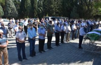 Merhum Kasap Hasan Cömert'in eşi Fatma Cömert dualarla toprağa verildi