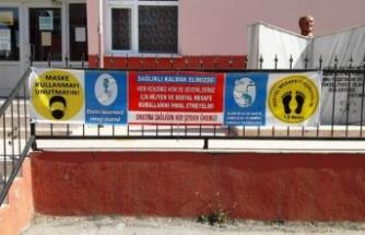 Boyabat'ta okullar yüz yüze eğitime hazır