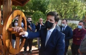 Macaristan Büyükelçisi Viktor Matis'in Boyabat ziyaretinin VİDEO GÖRÜNTÜLERİ