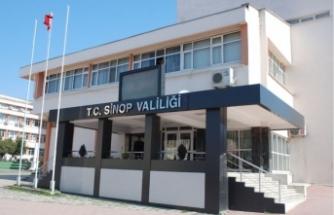 Sinop Valiliğinden tedbir kararları