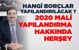 Mustafa Gezen yazdı ''2020 Mali Yapılandırma''