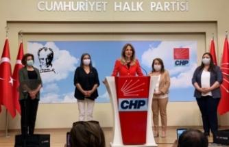 Cumhuriyet Halk Partisi Kadın Kollarının Basın Açıklaması
