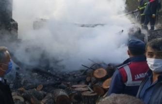 Köyde yangın çıktı 1 kişi hayatını kaybetti !