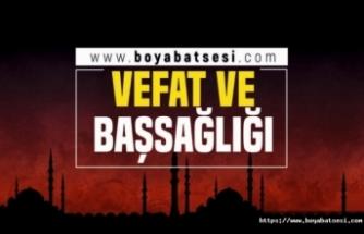 Orta Çarşı esnaflarından Mehmet Çil'in annesi Hatice Çil vefat etti
