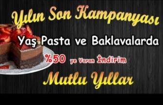 Şahin Pastanesinden kampanya