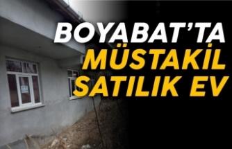 Boyabat'ta satılık müstakil ev