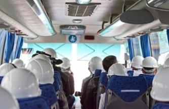Sinop'ta fabrika servis araçları için %50 sınırlama