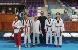 Boyabatlı taekwondoculardan büyük başarı