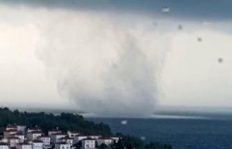 Sinop'ta hortum paniği