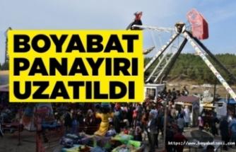Boyabat Panayırı'nın tarihi uzatıldı