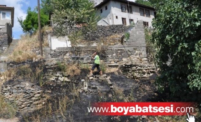 Camikebir Mahallesinde Yangın Paniği