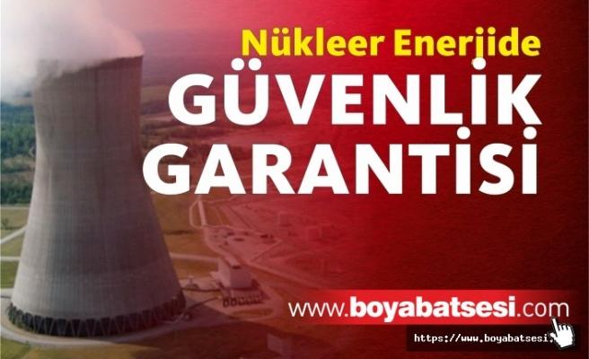 Nükleer enerjide güvenlik garantisi