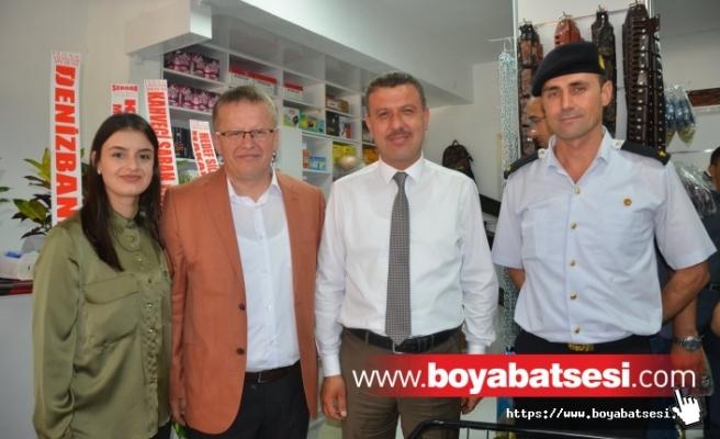 Boyabat'ta Şimşek Av Market Dualarla Hizmete Açıldı….