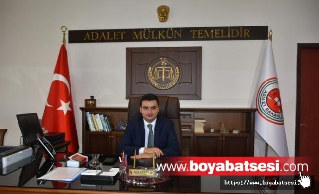Gazetecilerden Cumhuriyet Başsavcısı Akın'a Hayırlı Olsun Ziyareti