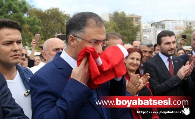 Sinop'ta, Büyük Önder Atatürk'ün kente gelişinin 90. yıl dönümü kutlandı