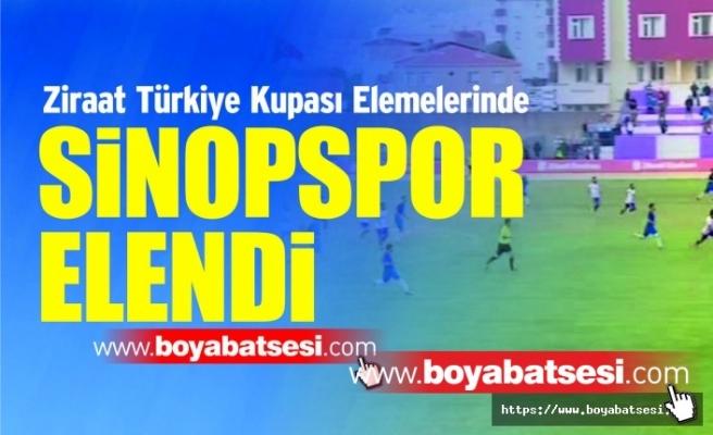 Ziraat Türkiye Kupasında Sinopspor Elendi