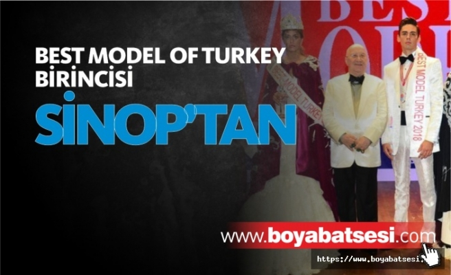 Best Model Of Turkey'i Sinoplu Genç Kazandı
