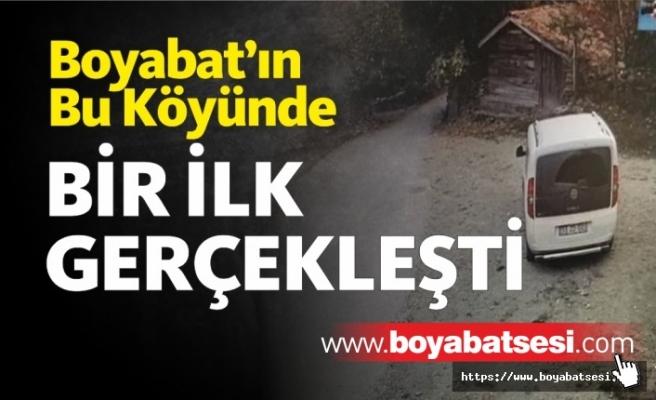 Boyabat'ta Bir İlk : Köyde Kamera Sistemi Kuruldu