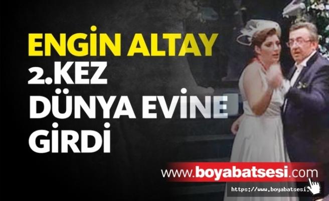 Eski Sinop Milletvekili Engin Altay Evlendi