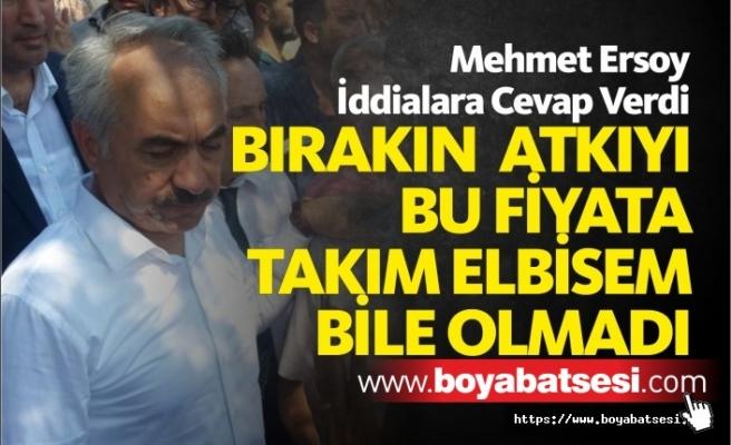 Mehmet Ersoy Hakkında Çıkan İddialara Cevap Verdi