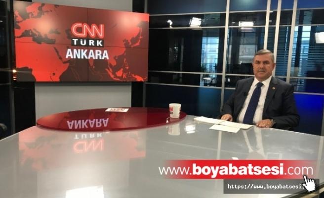 Nazım  Maviş CNN Türk'e Önemli Açıklamalarda Bulundu