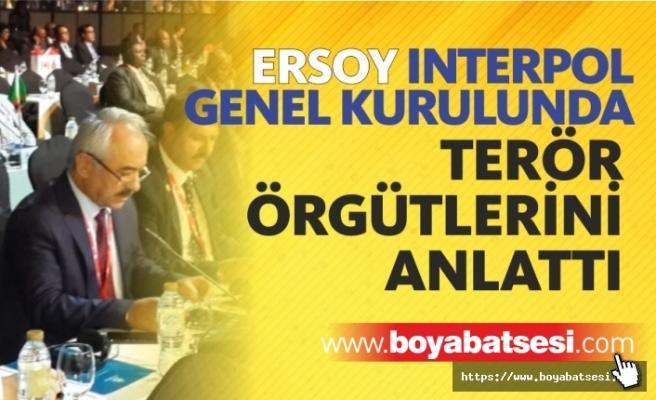 Mehmet Ersoy Interpol Genel Kuruluna Katıldı