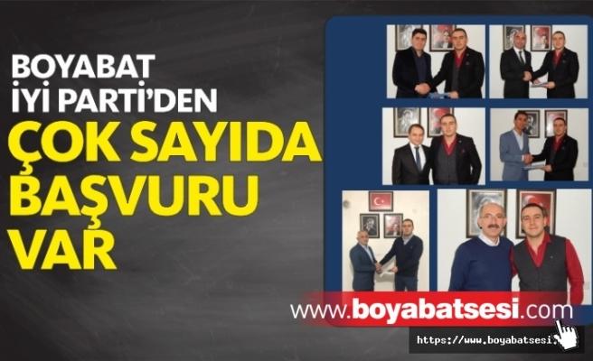 Boyabat İyi Parti Belediye Meclisi Aday Başvuruları