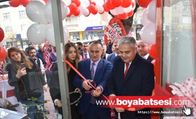 BOYABAT'TA GÜNEŞ ELEKTRONİK VESTEL BAYİLİĞİ AÇILDI