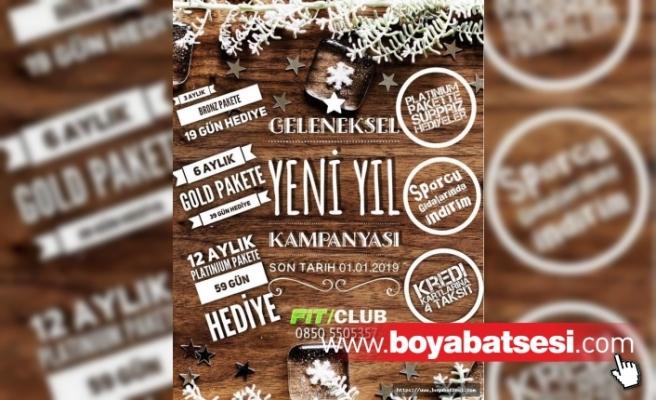 FİT/CLUB YILBAŞI İNDİRİMLERİ BAŞLADI !