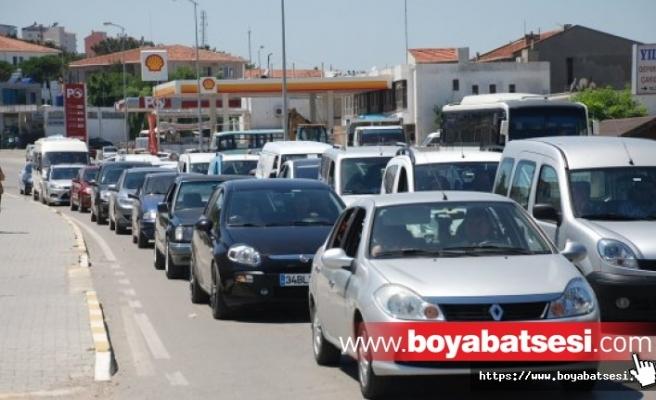 Sinop'ta araç sayısı 59 bin 490 oldu