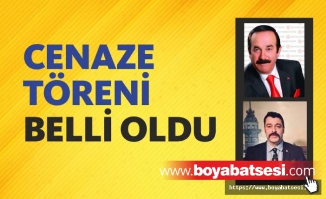 Vefat Eden Ali Dalkılıç ve Osman Yıldırım'ın Cenaze Törenleri Belli Oldu
