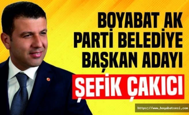 AK Parti Boyabat Adayı Şefik Çakıcı Oldu