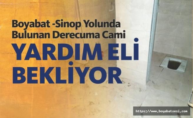 Boyabat Sinop Yolunda Bulunan Asırlık Cami Yardım Eli Bekliyor