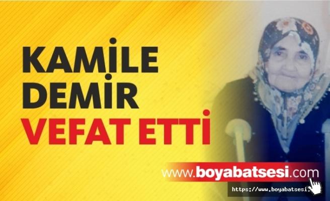 Kamile Demir Vefat Etti