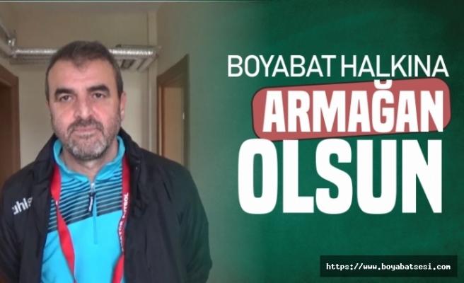 Mustafa Şakar Durağanspor Maçından Sonra Konuştu