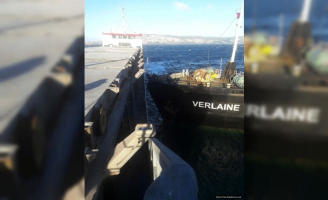 Sinop'ta Gemi Kazası